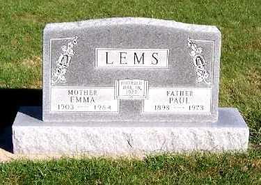 LEMS, PAUL - Sioux County, Iowa | PAUL LEMS