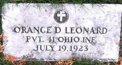 LEONARD, ORANGE D. - Sioux County, Iowa | ORANGE D. LEONARD