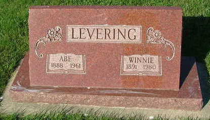 LEVERING, ABE - Sioux County, Iowa | ABE LEVERING
