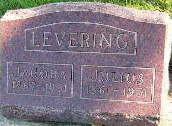 LEVERING, JULIUS - Sioux County, Iowa | JULIUS LEVERING