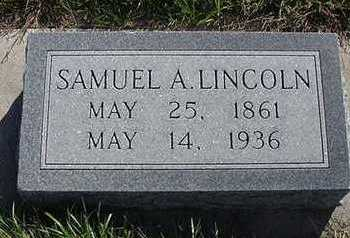 LINCOLN, SAMUEL A. - Sioux County, Iowa | SAMUEL A. LINCOLN