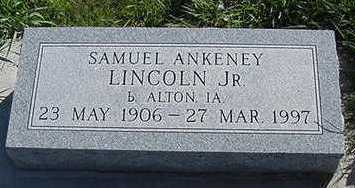 LINCOLN, SAMUAL ANKENY JR. - Sioux County, Iowa | SAMUAL ANKENY JR. LINCOLN