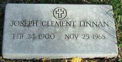 LINNAN, JOSEPH CLEMENT - Sioux County, Iowa | JOSEPH CLEMENT LINNAN