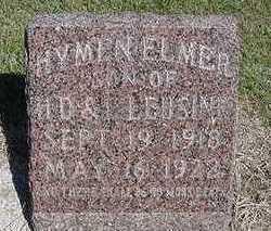 LLEUSINK, HYMEN ELMER - Sioux County, Iowa   HYMEN ELMER LLEUSINK