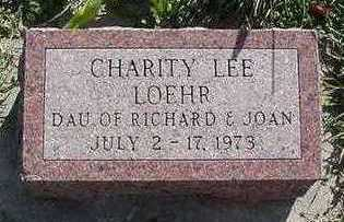 LOEHR, CHARITY LEE - Sioux County, Iowa | CHARITY LEE LOEHR