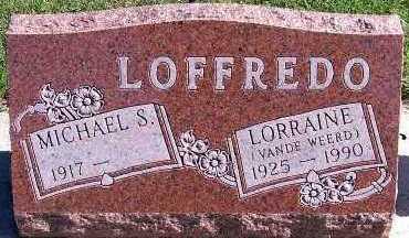 VANDEWEERD LOFFREDO, LORRAINE - Sioux County, Iowa | LORRAINE VANDEWEERD LOFFREDO