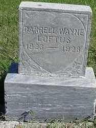 LOFTUS, DARRELL WAYNE - Sioux County, Iowa | DARRELL WAYNE LOFTUS