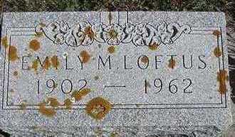LOFTUS, EMILY M. - Sioux County, Iowa | EMILY M. LOFTUS