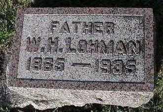 LOHMAN, W. H. - Sioux County, Iowa | W. H. LOHMAN