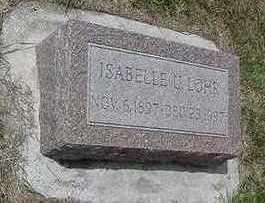LOHR, IASBELLE - Sioux County, Iowa   IASBELLE LOHR