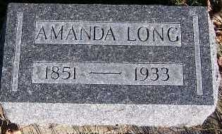 LONG, AMANDA - Sioux County, Iowa | AMANDA LONG