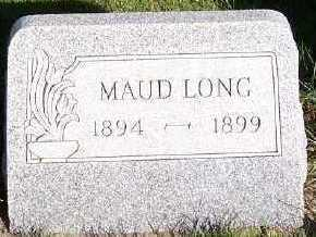 LONG, MAUD - Sioux County, Iowa | MAUD LONG