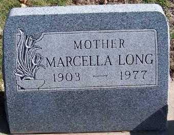 LONG, MARCELLA - Sioux County, Iowa | MARCELLA LONG