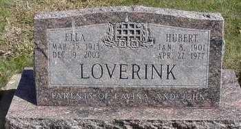 LOVERINK, ELLA (MRS. HUBERT) - Sioux County, Iowa | ELLA (MRS. HUBERT) LOVERINK