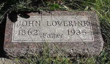 LOVERINK, JOHN - Sioux County, Iowa | JOHN LOVERINK