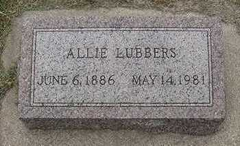 LUBBERS, ALLIE - Sioux County, Iowa | ALLIE LUBBERS