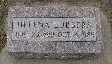 LUBBERS, HELENA  D.1985 - Sioux County, Iowa | HELENA  D.1985 LUBBERS
