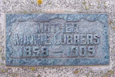 LUBBERS, MINNIE - Sioux County, Iowa | MINNIE LUBBERS