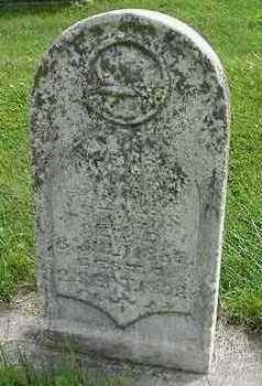 LUTJENS, CHILD  D.1882 - Sioux County, Iowa | CHILD  D.1882 LUTJENS