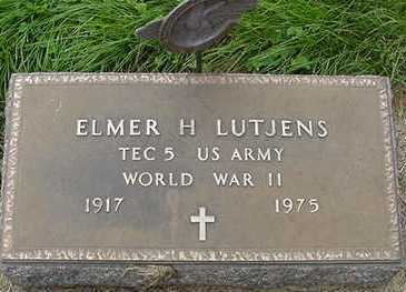 LUTJENS, ELMER H. - Sioux County, Iowa | ELMER H. LUTJENS