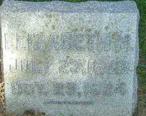 LYNCH, ELIZABETH M. - Sioux County, Iowa   ELIZABETH M. LYNCH