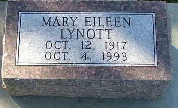 LYNOTT, MARY EILEEN - Sioux County, Iowa | MARY EILEEN LYNOTT