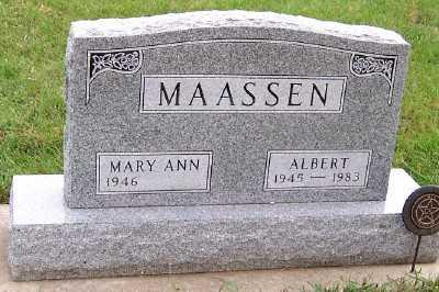 MAASSEN, ALBERT - Sioux County, Iowa | ALBERT MAASSEN