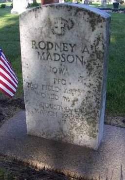 MADSON, RODNEY A. - Sioux County, Iowa | RODNEY A. MADSON