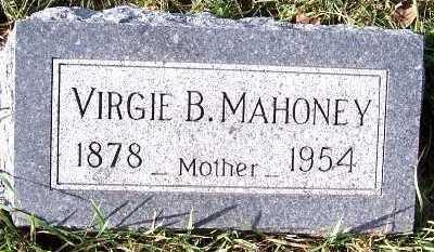 MAHONEY, VIRGIE B. - Sioux County, Iowa | VIRGIE B. MAHONEY