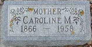 MANDELKOW, CAROLINE M. - Sioux County, Iowa | CAROLINE M. MANDELKOW