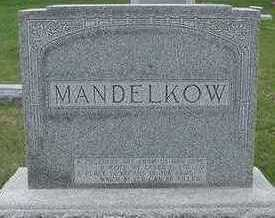 MANDELKOW, HEADSTONE - Sioux County, Iowa | HEADSTONE MANDELKOW
