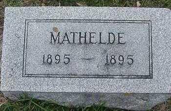 MANDELKOW, MATHELDE - Sioux County, Iowa | MATHELDE MANDELKOW