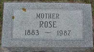 MANDELKOW, ROSE - Sioux County, Iowa | ROSE MANDELKOW