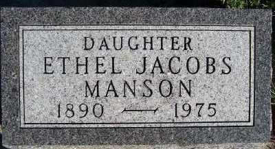 MANSON, ETHEL - Sioux County, Iowa   ETHEL MANSON