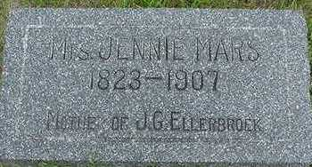 MARS, JENNIE - Sioux County, Iowa | JENNIE MARS
