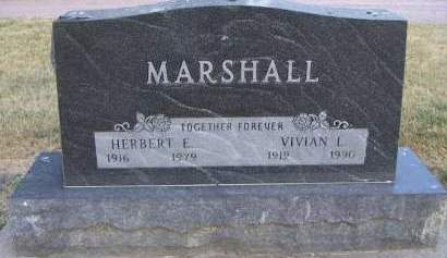 MARSHALL, VIVIAN I. - Sioux County, Iowa | VIVIAN I. MARSHALL