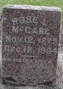 MCCABE, ROSE - Sioux County, Iowa | ROSE MCCABE