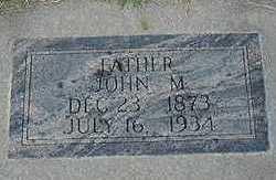 MCCARTHY, JOHN M. - Sioux County, Iowa   JOHN M. MCCARTHY