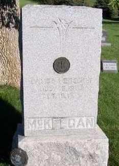 MCKEEGAN, JAMES HERBERT - Sioux County, Iowa   JAMES HERBERT MCKEEGAN