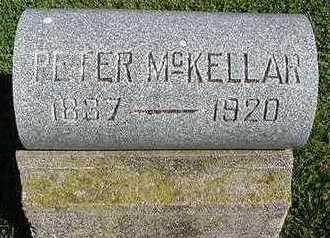 MCKELLAR, PETER - Sioux County, Iowa   PETER MCKELLAR