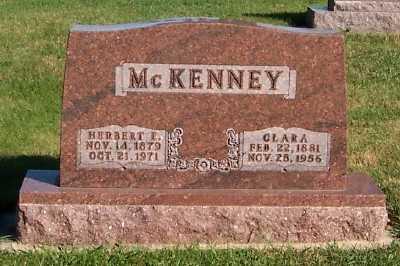 MCKENNEY, CLARA - Sioux County, Iowa   CLARA MCKENNEY