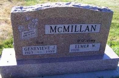 MCMILLAN, GENEVIEVE J. - Sioux County, Iowa | GENEVIEVE J. MCMILLAN