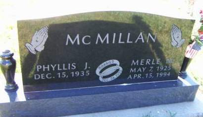 MCMILLAN, MERLE M. - Sioux County, Iowa | MERLE M. MCMILLAN