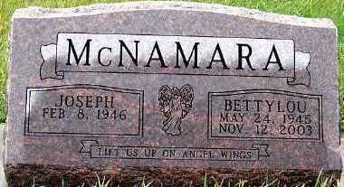 MCNAMARA, BETTY LOU - Sioux County, Iowa   BETTY LOU MCNAMARA