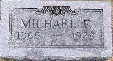 MCNAMARA, MICHAEL F. - Sioux County, Iowa   MICHAEL F. MCNAMARA