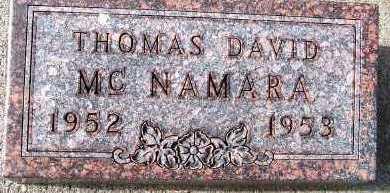 MCNAMARA, THOMAS DAVID - Sioux County, Iowa | THOMAS DAVID MCNAMARA