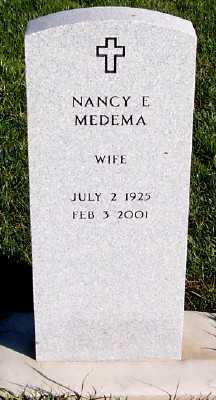 MEDEMA, NANCY E. - Sioux County, Iowa   NANCY E. MEDEMA