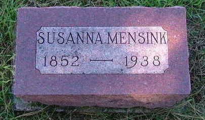 MENSINK, SUSANNA - Sioux County, Iowa | SUSANNA MENSINK