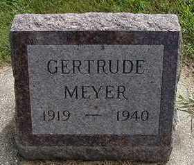MEYER, GERTRUDE - Sioux County, Iowa | GERTRUDE MEYER