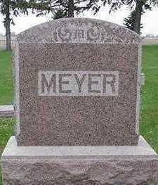 MEYER, HEADSTONE - Sioux County, Iowa | HEADSTONE MEYER